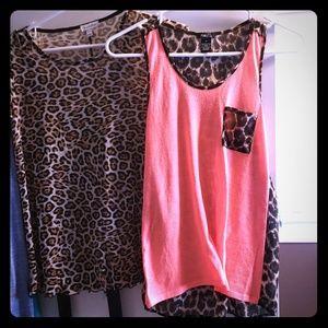 Cheetah tops!